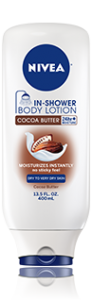 Free Sample Of Nivea In-Shower Cocoa Butter Body Lotion