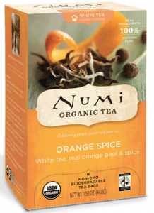 Free Sample Of Numi Organic Tea