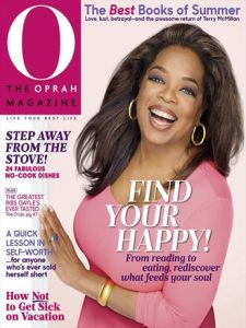 Free 24 Issue Subscription To O, The Oprah Magazine