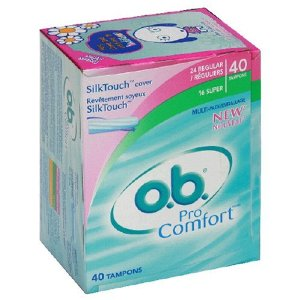 Possible Free o.b. Pro Comfort Tampons