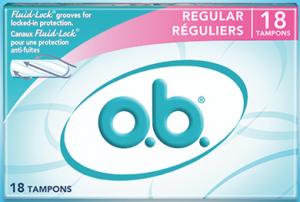 Free o.b. ProComfort Sample Pack