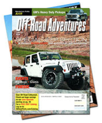 Free Three Month Subscription To Off-Road Adventures Magazine