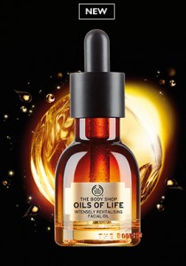 Free Oils of Life Facial Oil Deluxe Sample at The Body Shop