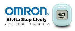 Omron Alvita Step Lively House Party