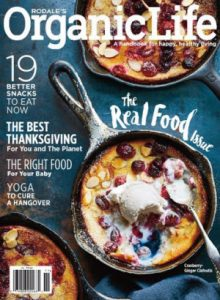 Free One Year Subscription To Rodale's Organic Life Magazine