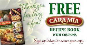 Free Cara Mia Recipe Book With Coupons
