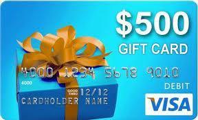 OwnerListens Weekly $500 Visa Gift Card Giveaway