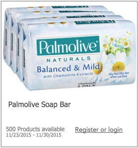 Free Palmolive Soap Bar