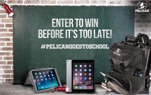 Pelican Products Back to School Sweepstakes