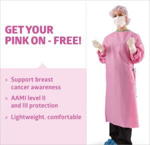 Free Pink Surgical Gown