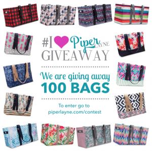 Piper Layne 100 Bag Giveaway