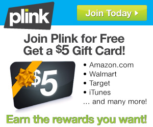 Free $5 Amazon Gift Card From Plink