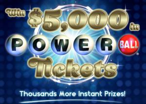 Shoutz Powerball Powercode Instant Win Game