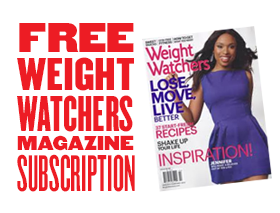 Free One Year Subscription To Weight Watchers Magazine With Purchase