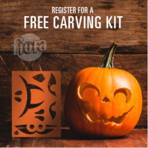 Free Fiora Spooktacular Pumpkin Carving Kit