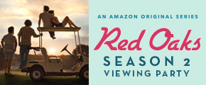 Red Oaks Season 2 Viewing House Party