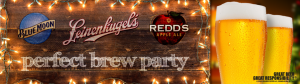 Blue Moon, Leinie's and Redd's Perfect Brew House Party