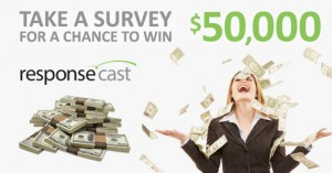 ResponseCast - Take 1 Survey For A Chance To Win $50,000