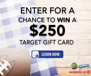 RITZ/OREO Tailgate Snackdown - Win a $250 Target Gift Card