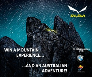 Salewa Get Vertical Contest