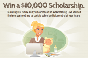 Scholarships4Moms: Enter To Win $10,000