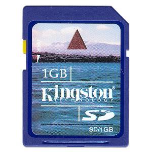 Free Kingston 1GB SD Card