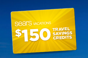 Free $150 in Travel Credit from Sears