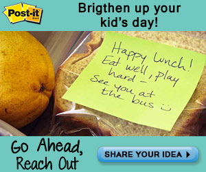 Share A Moment With Post-It!
