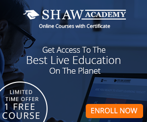 One Free Online Education Course From Shaw Academy