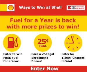 Shell Fuels Sweepstakes