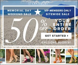 ShoeDazzle 50% Off Sale Plus Free Shipping