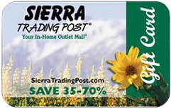 Champagne Living $100 Sierra Trading Post Gift Card Giveaway