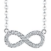 Enter To Win A Pure Silver-Plated Genuine Crystal Infinity Pendant