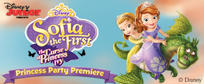 Sofia The First: Curse Of Princess Ivy Premiere House Party