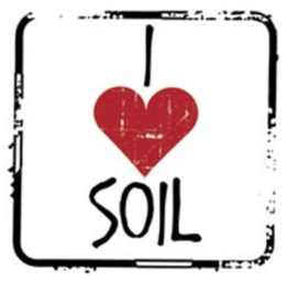Free I Love Soil Sticker
