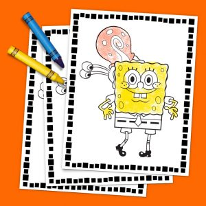 Printable SpongeBob and Friends Coloring Pack