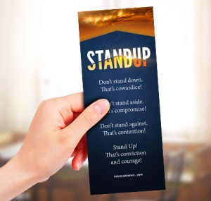 Free Stand Up Bookmark