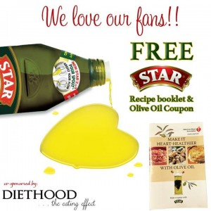 Free Make it Heart-Healthier with Olive Oil Booklet