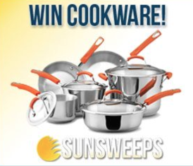 Enter To Win A Rachael Ray Stainless Steel II 10-Piece Cookware Set