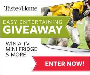 Taste Of Home Easy Entertaining Giveaway