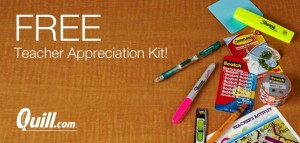 Free Teacher Appreciation Kit ($30 Value)