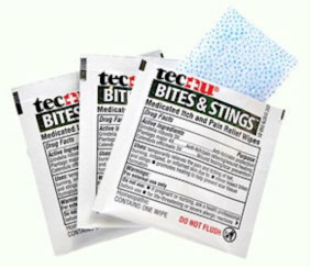Free Sample of Tecnu Bites & Stings Itch & Pain Relief Wipes