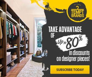 TemptBrands - Up To 80% In Discounts On Designer Pieces