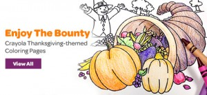 Free Printable Thanksgiving Coloring Pages From Crayola