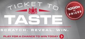 L&M Ticket To Taste Instant Win Game