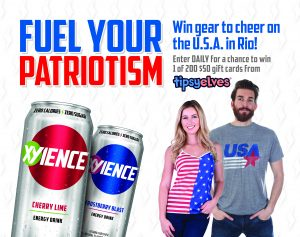 Xyience's Fuel Your Patriotism Sweepstakes