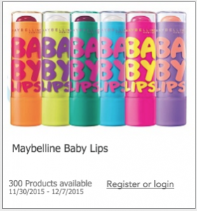 Free Maybelline Baby Lips