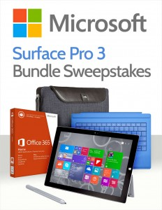 Enter To Win A New Surface Pro 3 Bundle