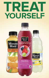 """Minute Maid On Premise """"Treat Yourself"""" Instant Win Game"""