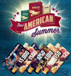 USA Gold Real American Summer Sweepstakes